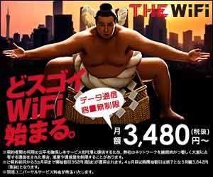 どスゴイ The WiFi ザWiFI
